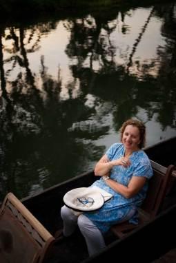 Karen Anderson, Keralan backwater canoe