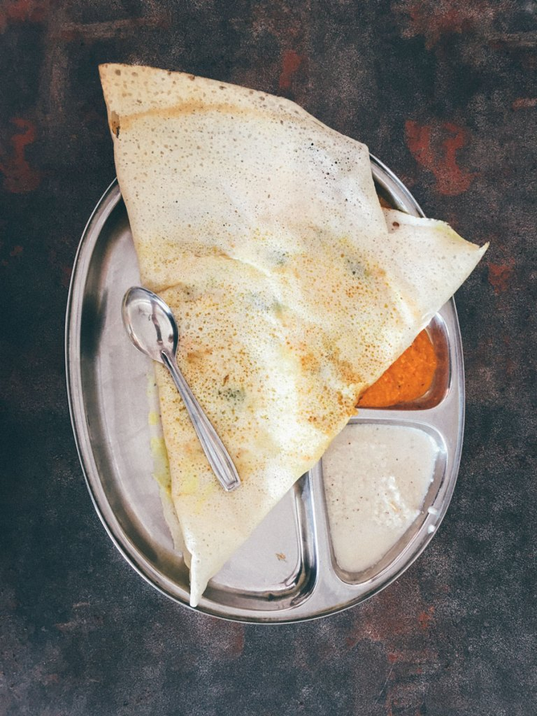 A resourceful driver will source the perfect dosa for you.