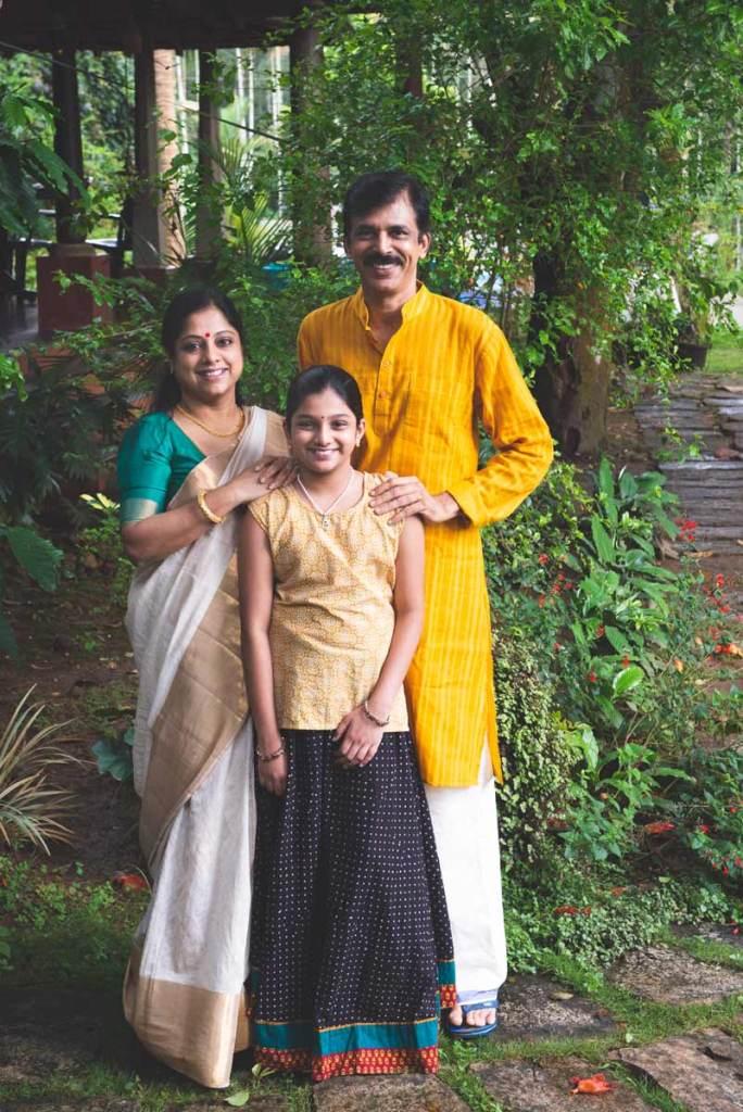 Ranjini, Raj, and Amuu Menon.