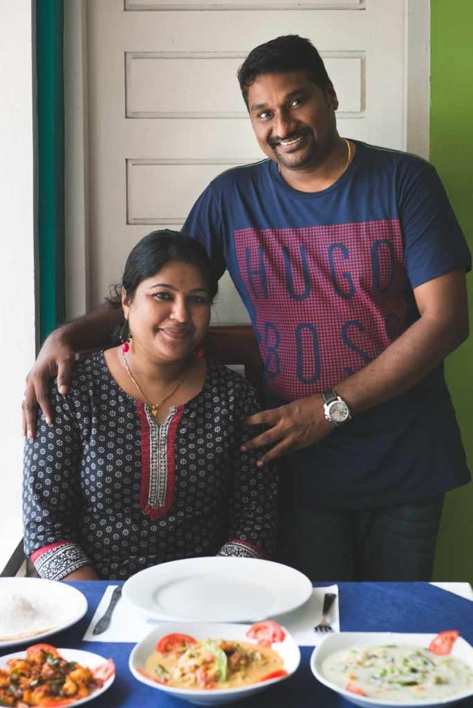 Aroma & Dipu at Casa Linda