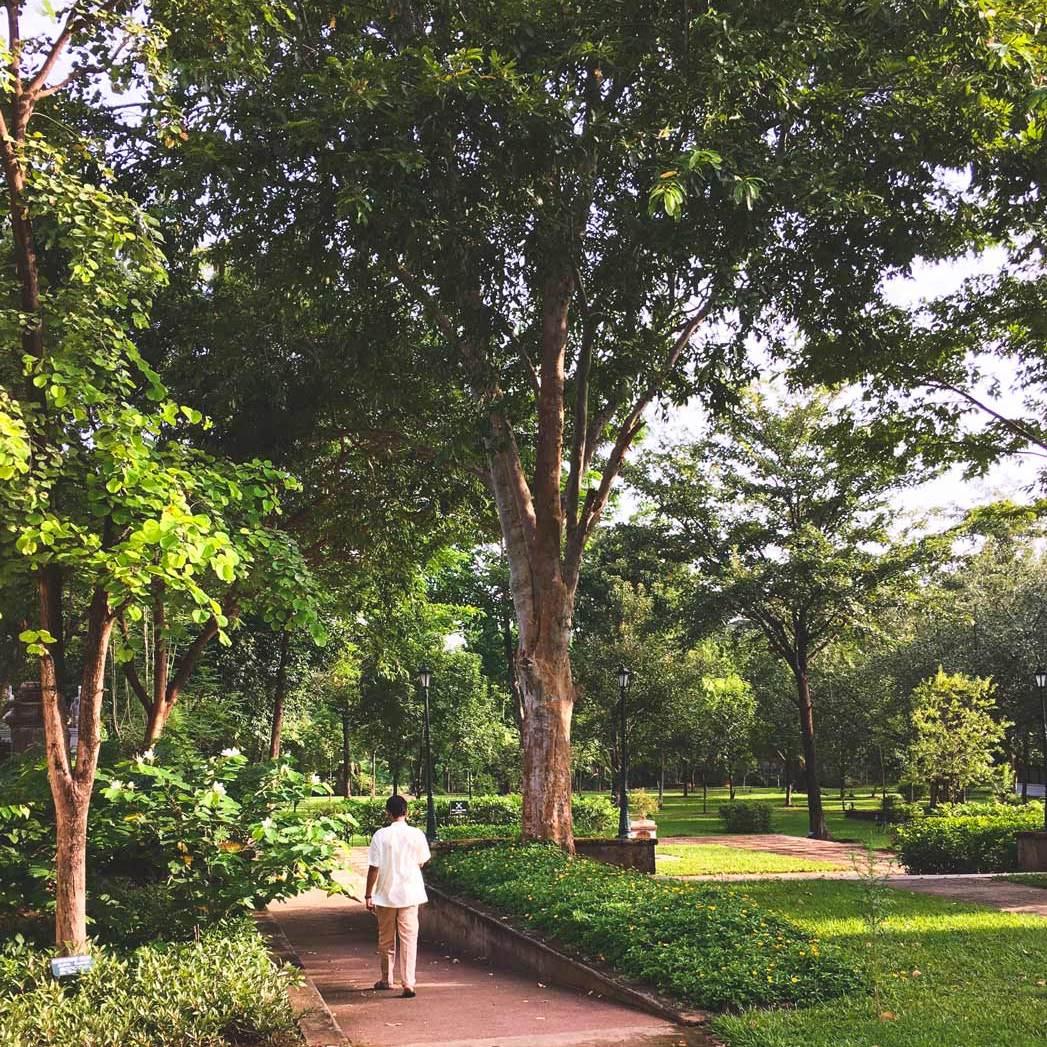 Kalari Kovilakom grounds