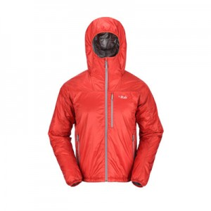 Versatile lightweight jacket with Primaloft One insulation. 390g.