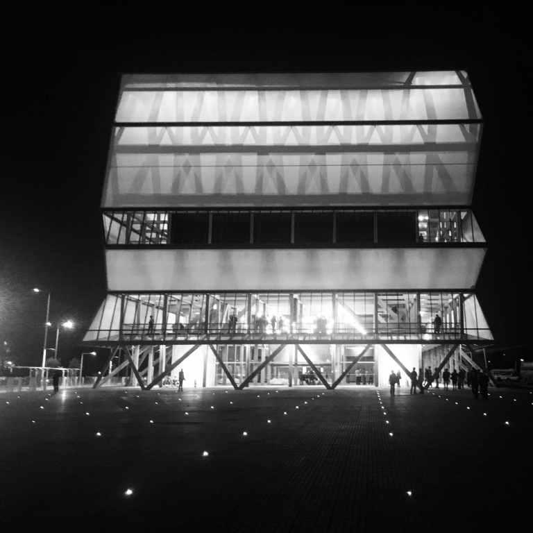 Fachada Textil Teatro Regional Concepción