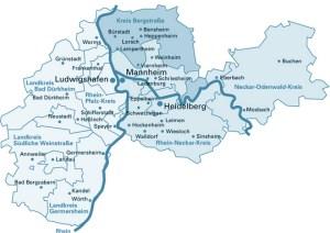 Karte der MRN