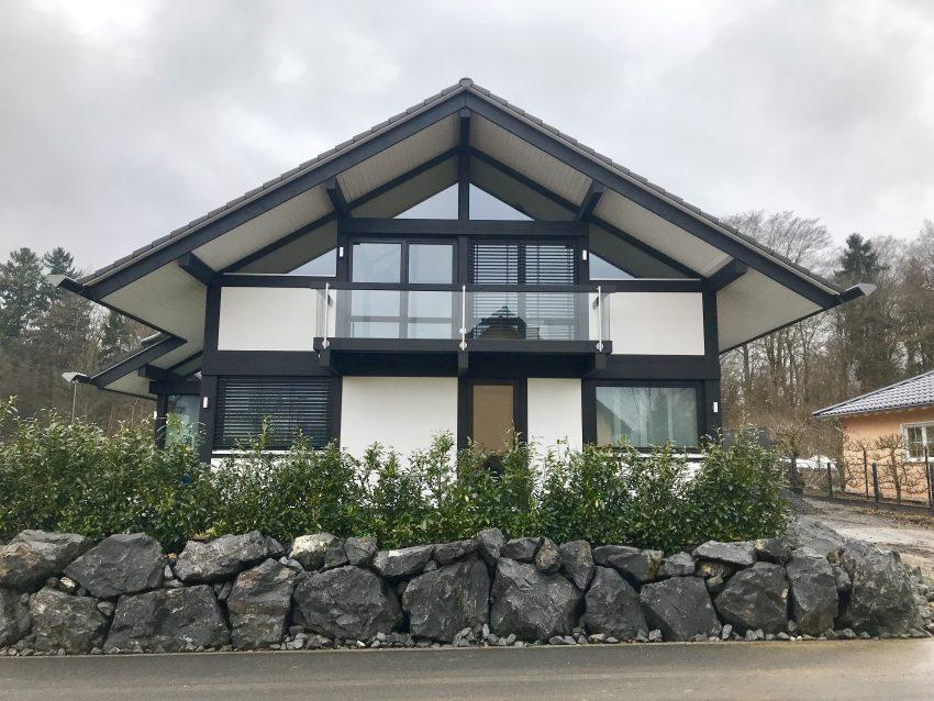 Schneelast bei Huf - Davinci | Modernes Fachwerkhaus - Alle ...