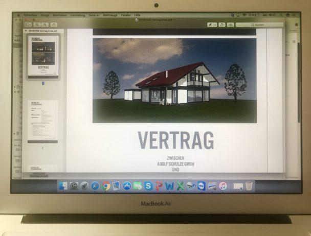 Detmolder Fachwerkhaus - Vertrag