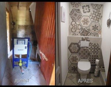 Rénovation toilette