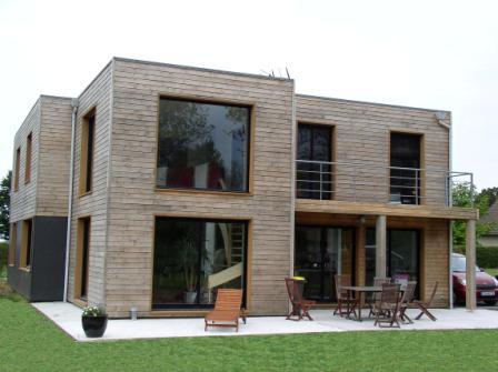 maison ossature bois tullins isère