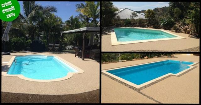plage piscine terrasse drainante Isère Drôme