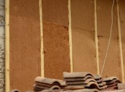 isolation pisé avec laine de bois et fibre de bois