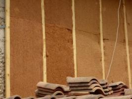 isolation pisé laine de bois et fibre de bois