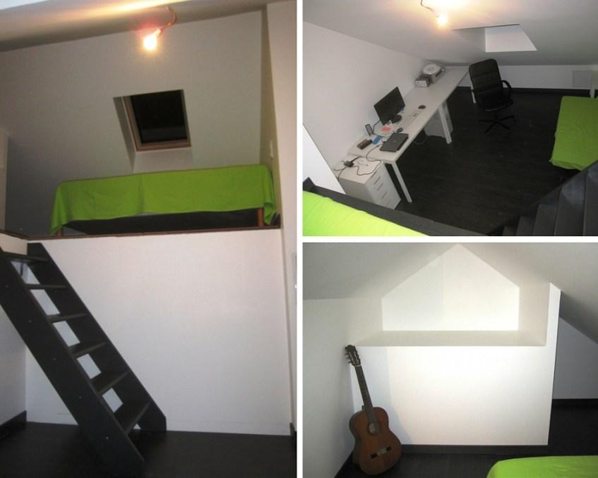 Aménagement comble Isère et isolation toiture Grenoble Voiron Isère 38 (après)