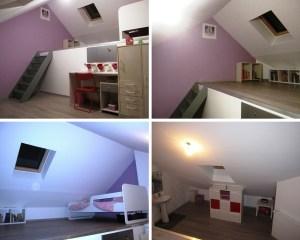 Aménagement comble grenoble et isolation toiture Grenoble (après)