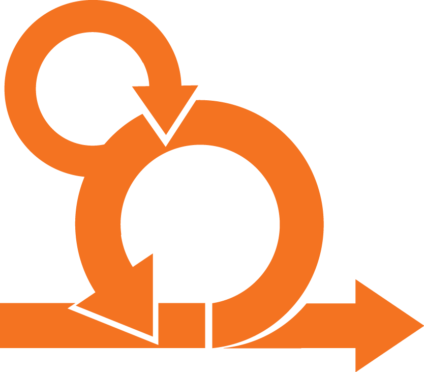 Orange Agile Logo Transparent