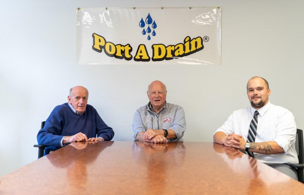 Port A Drain Team