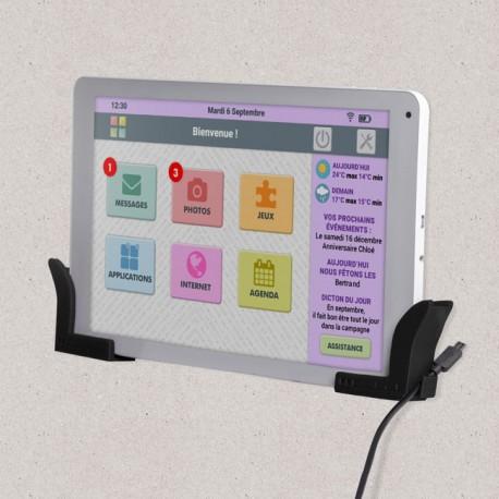 supports muraux pour tablette facilotab
