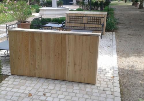 coffres et meubles de rangement en bois