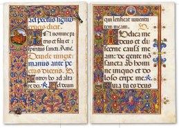 Missal of the Nativity, f.1v e f. 2r
