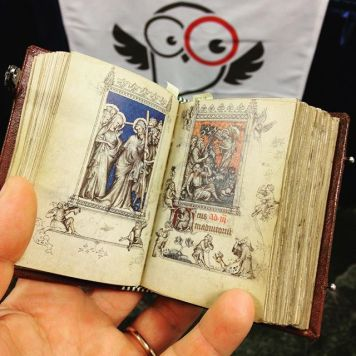 Tiny Hours of Jeanne d'Evreux facsimile