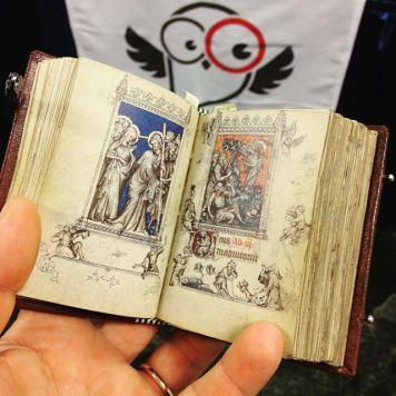Tiny Hours of Jeanne d'Evreux facsimile