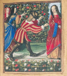 Miniature of the Little Book of Love