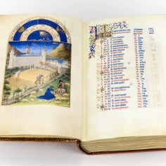 Calendar page of the Très Riches Heures