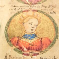 A portrait of a dame