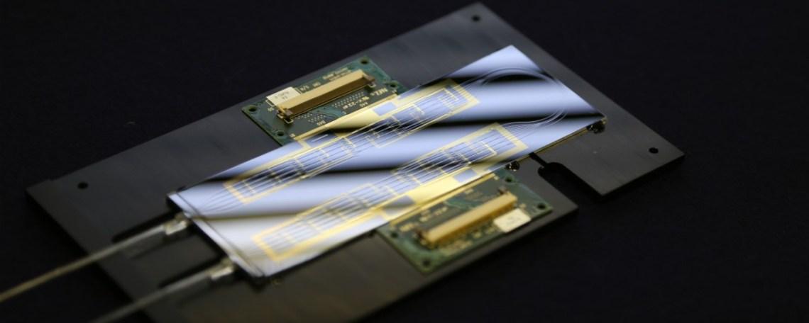 Integrated phontonics chip