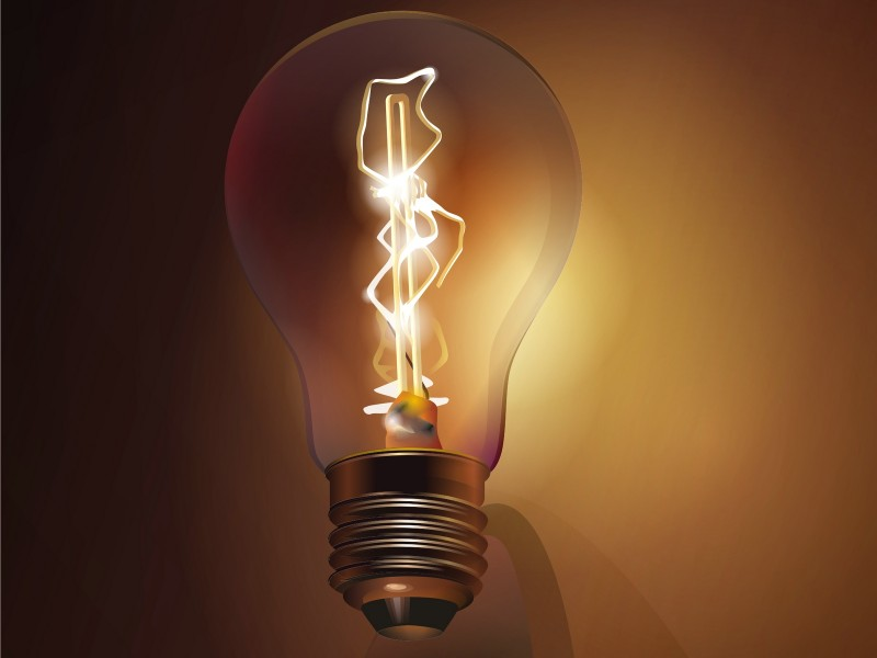 How Old Was Thomas Edison When He Made Light Bulb