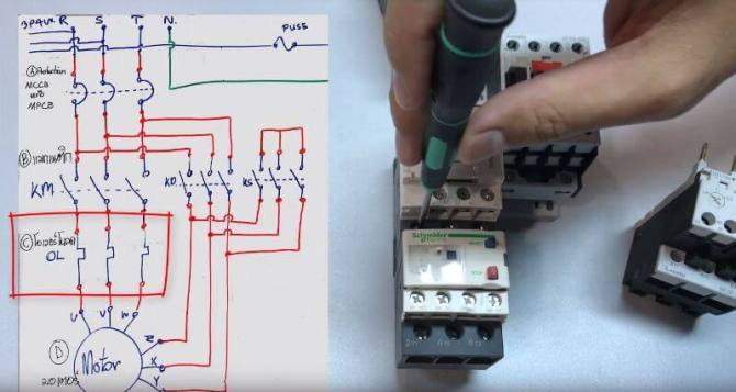 the beginner's guide to wiring a stardelta circuit