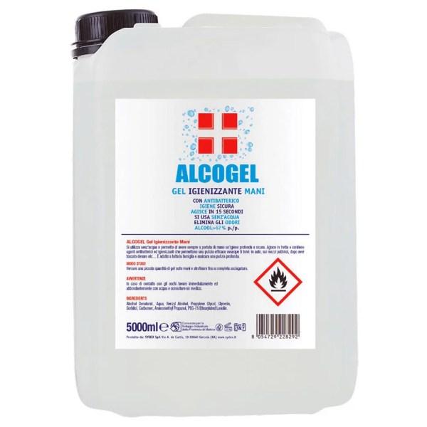 FactorFarma - ALCOGEL IGIENIZZANTE MANI - Tanica 5lt