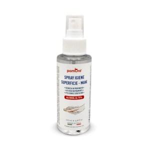 Spray igienizzante Pomoro mani e superfici 100 ml