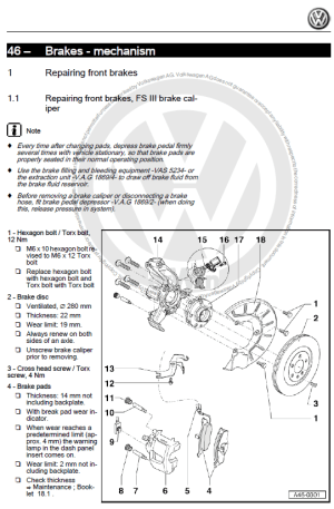 Volkswagen Jetta 20052007 factory repair manual