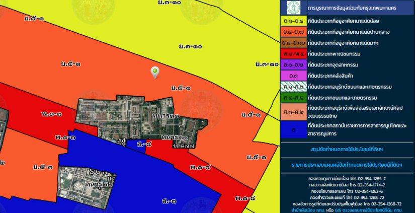 ที่ดิน ย.5-1 สีส้ม ถนนแจ้งวัฒนะ ซอย12 ขนาด 393 ตร วา