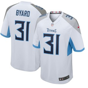 Men's Tennessee Titans Kevin Byard Nike White New 2018 Game Jersey