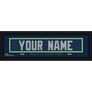 Seattle Seahawks Personalized Name Plate