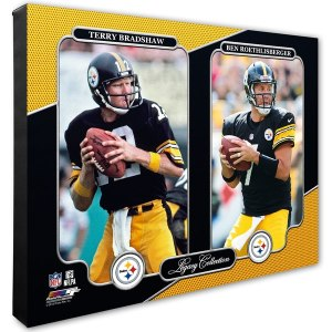 Pittsburgh Steelers Ben Roethlisberger & Terry Bradshaw 16