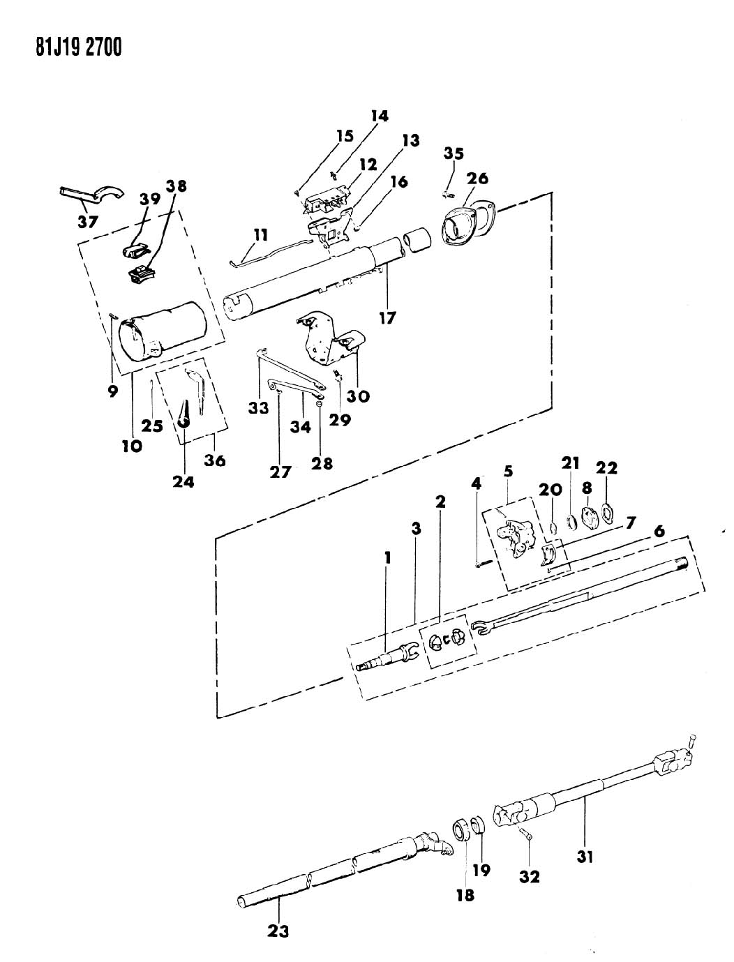 Jeep Wrangler Indicator Shift Pointer