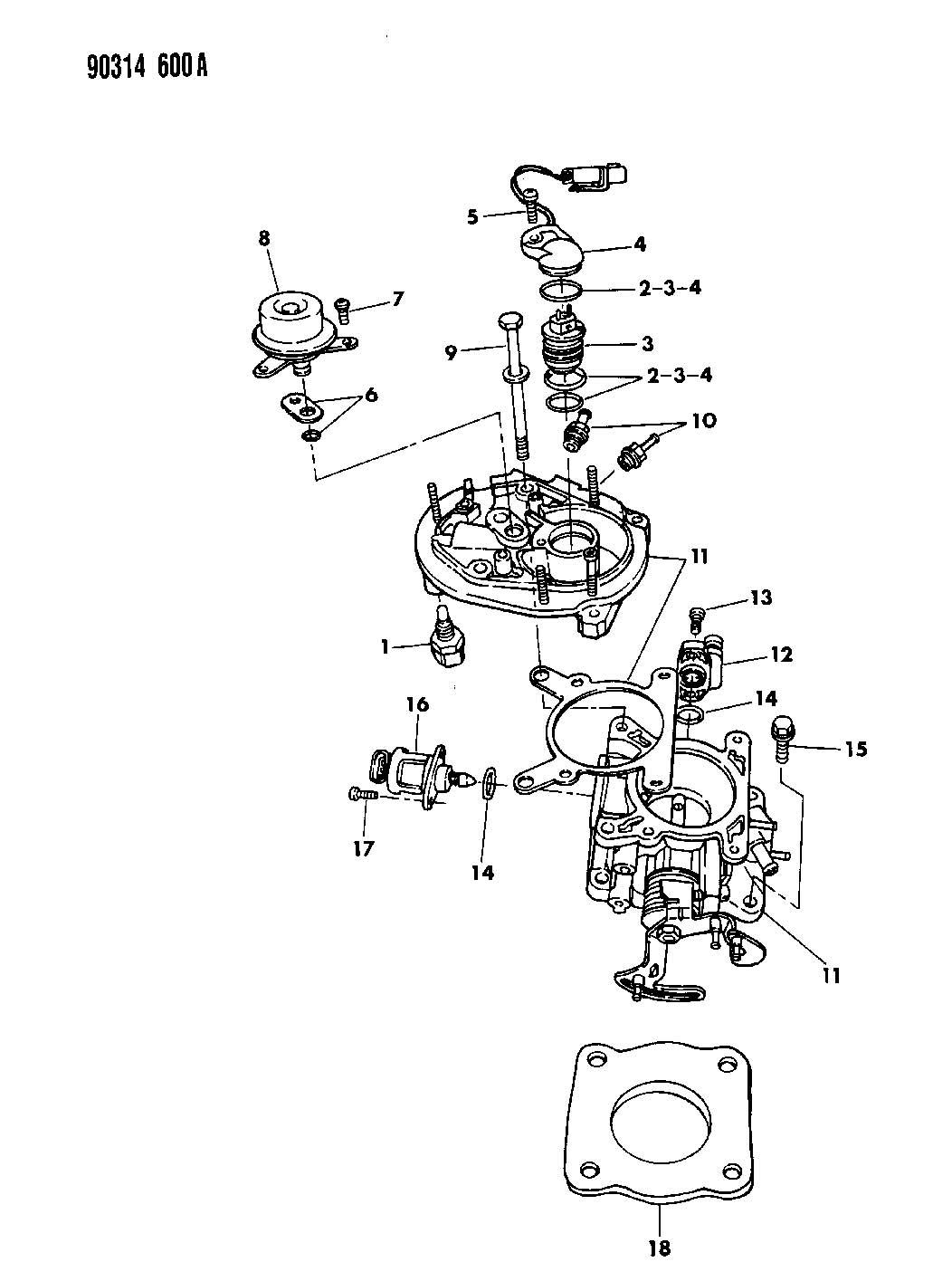 Dodge Dakota Sensor Throttle Position Sensor Throttle