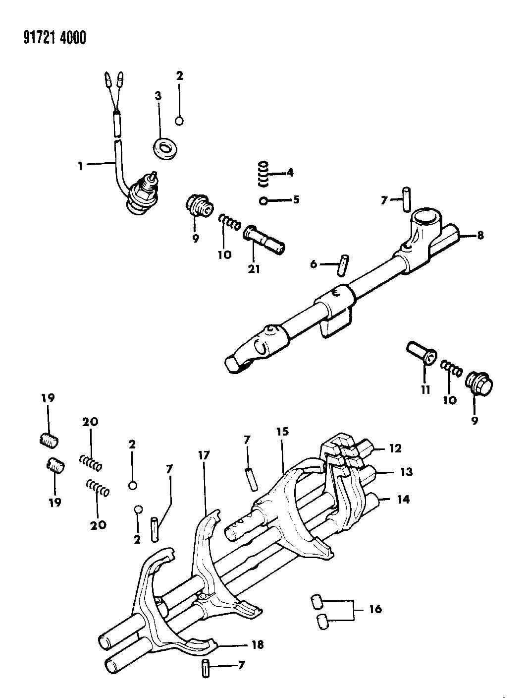 Control Shift Manual Transmission 5 Speed 27 Rwd T Engine