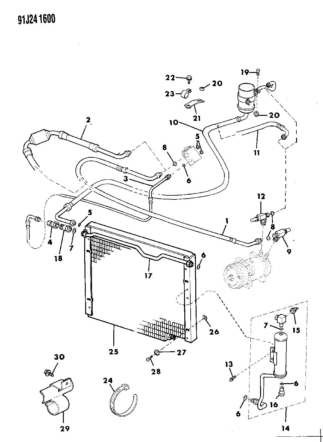 Jeep Wiring Jeep Comanche Wiring Diagram