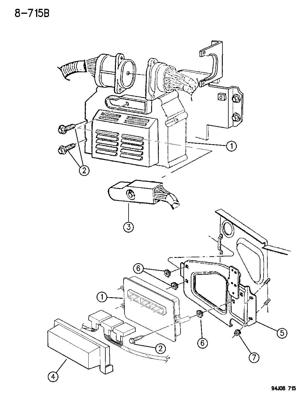 Jeep Grand Cherokee Single Board Engine Control