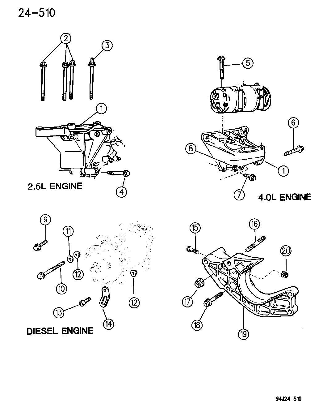 Jeep Cherokee A C Diagram