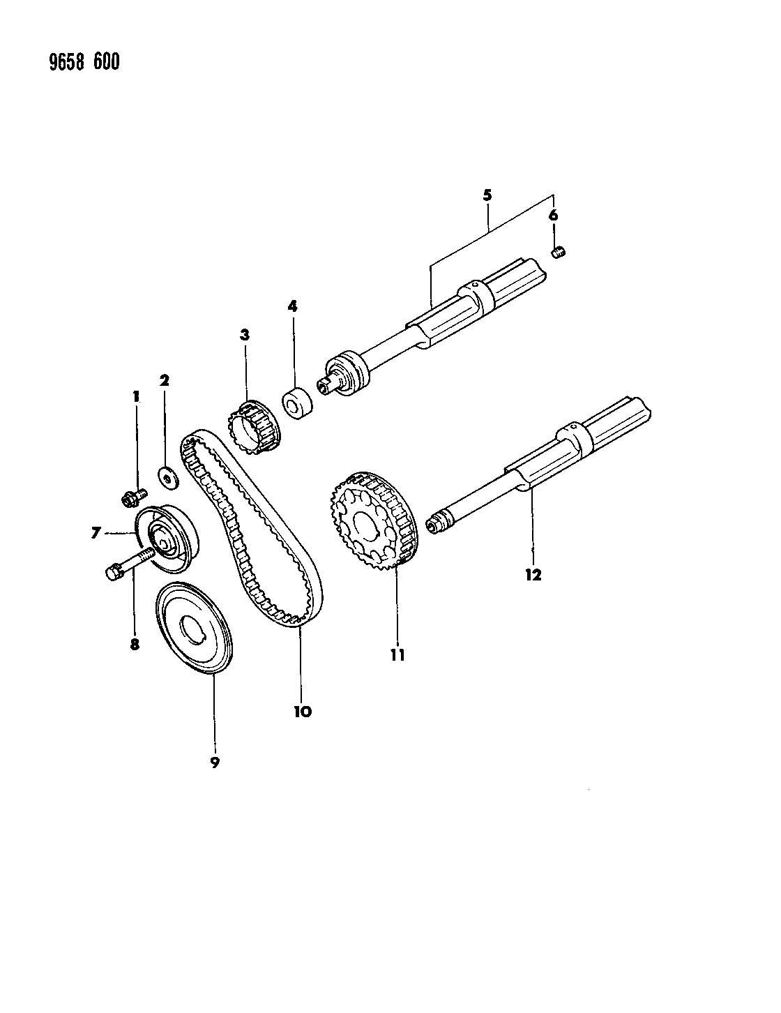 Balance Shafts 1 8l Engine Laser Talon