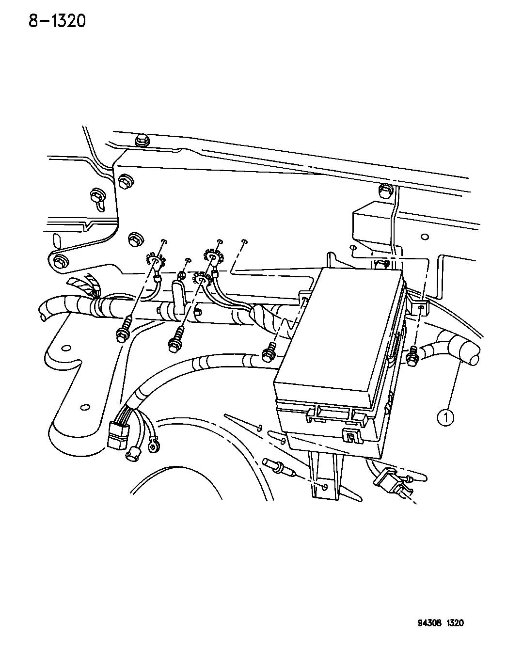 Dodge Horn Wires