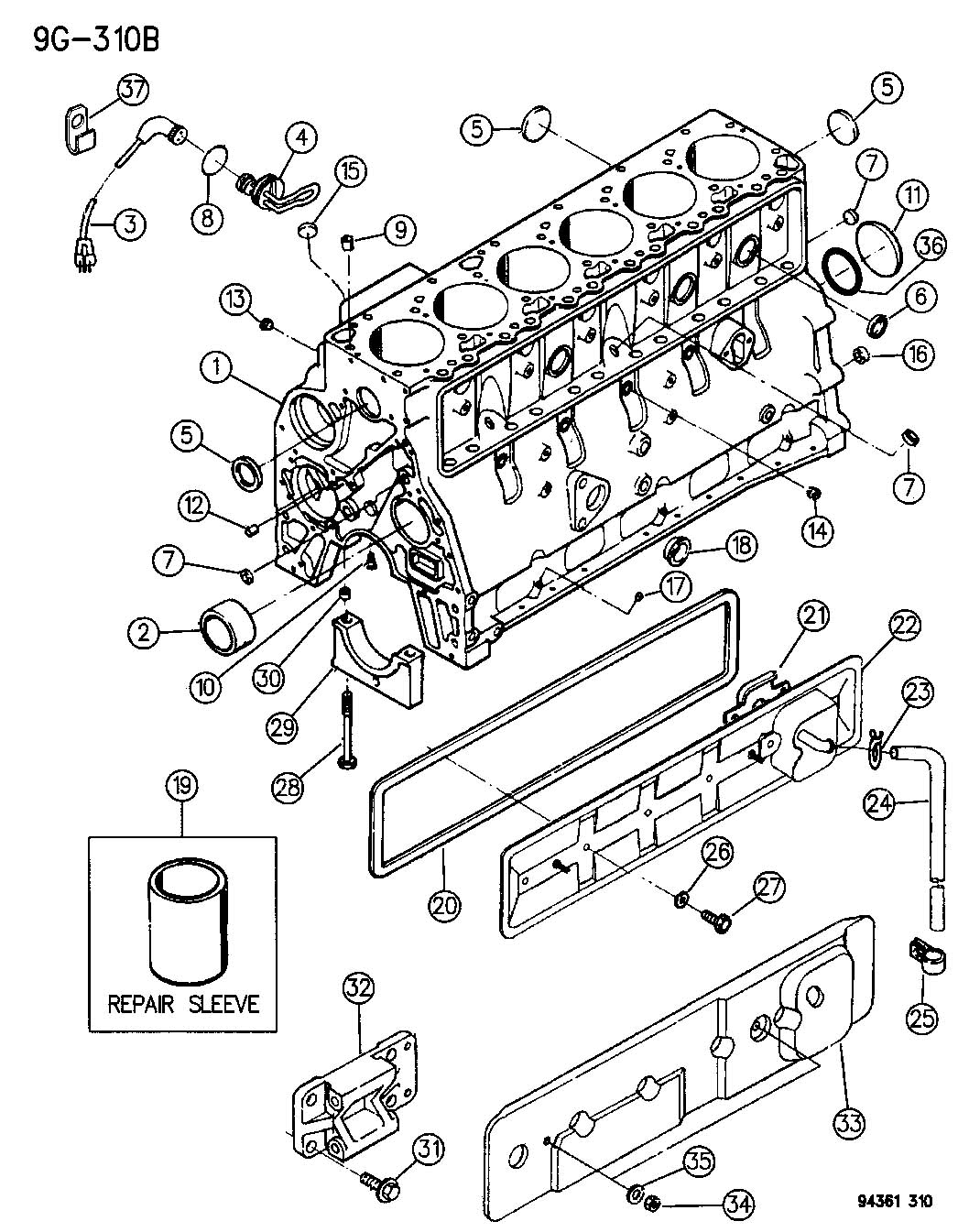 Sprinter Engine Diagram