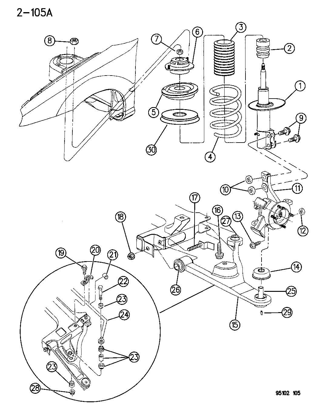 31 Pt Cruiser Rear Suspension Diagram