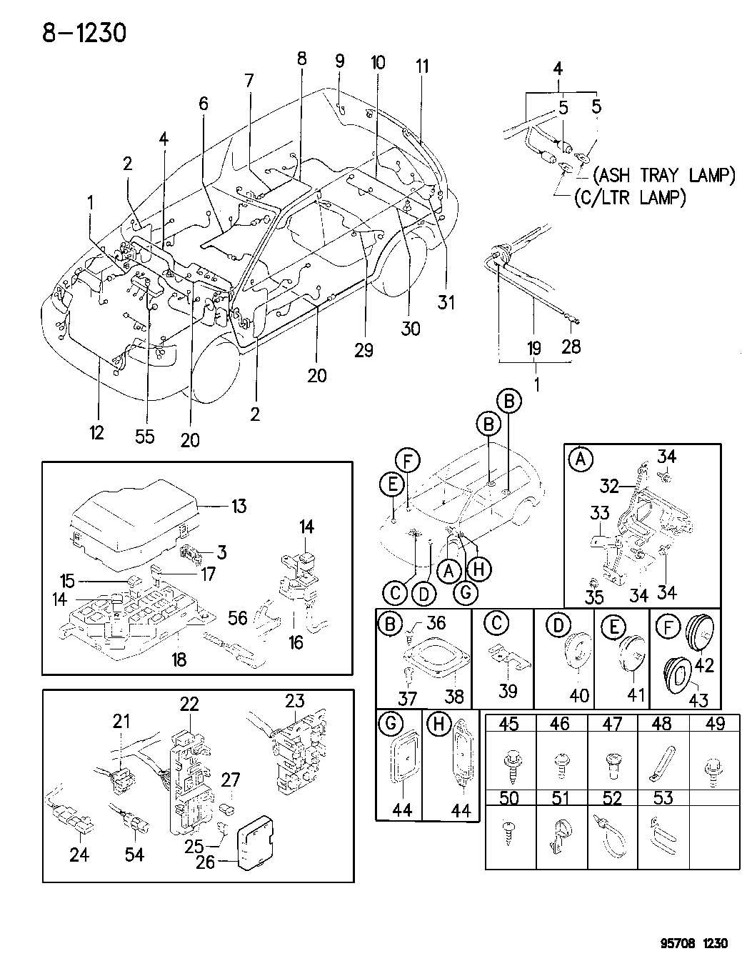Chrysler Sebring Fusible Link 40 Amp Green 40a