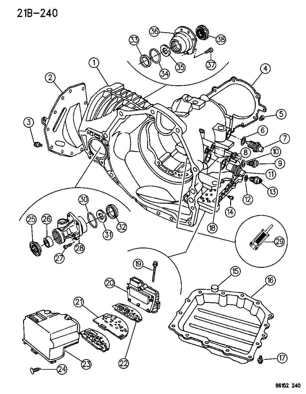 Jeep Cherokee O Ring Trans Speed Sensor Trans Speedo