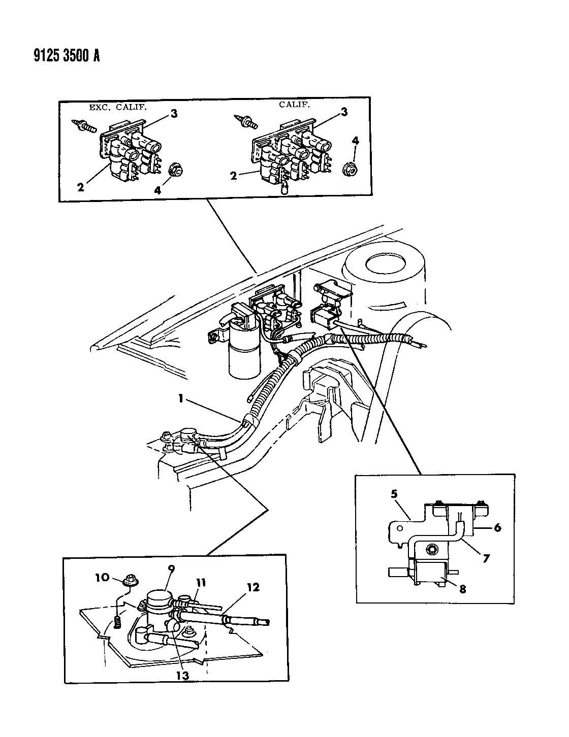 Vapor Canister 2 5l Engine